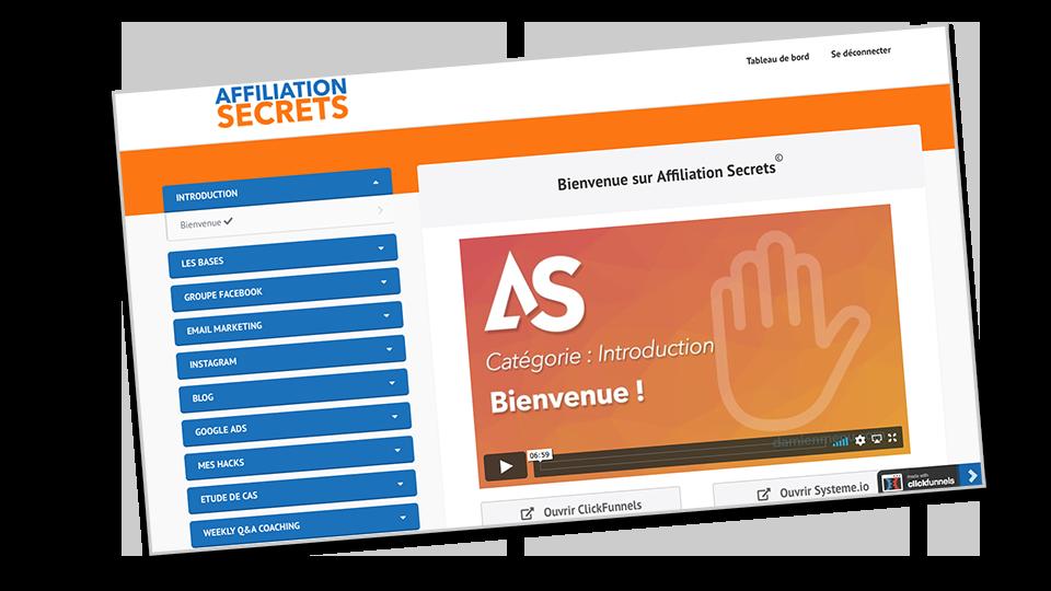 Page_bienvenue_formation_affiliation_secrets