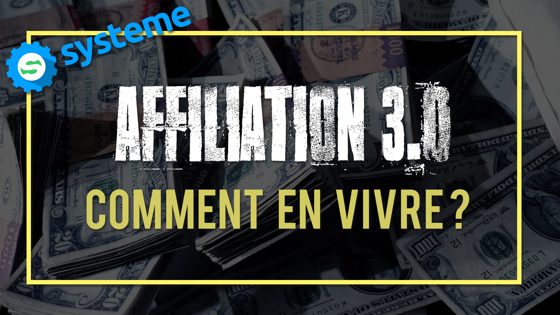 Comment vivre de l'affiliation
