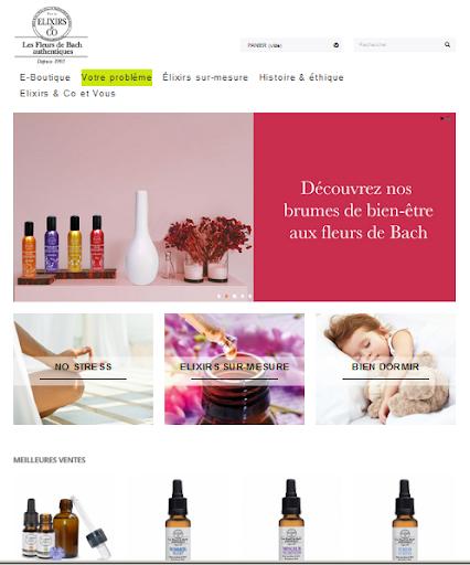site-mono-produit-Elixirs-Floraux-boutique mono produit