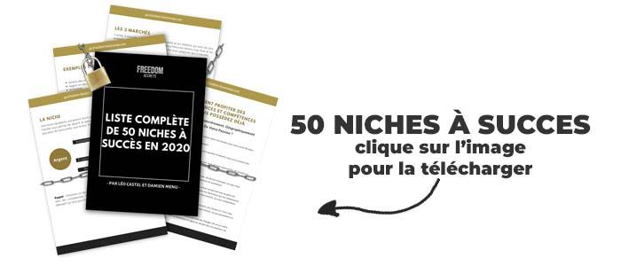 creer son audience sur le web liste des niches