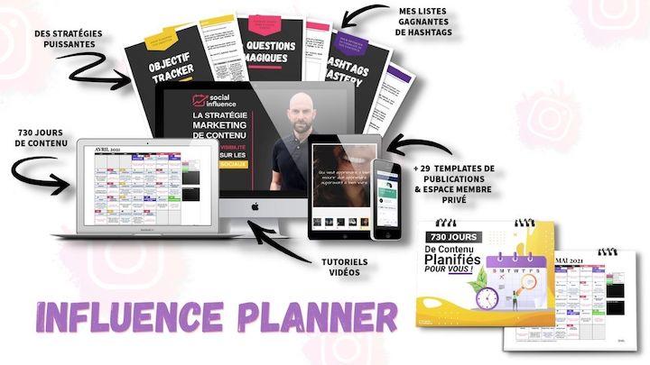 influence planner instagram