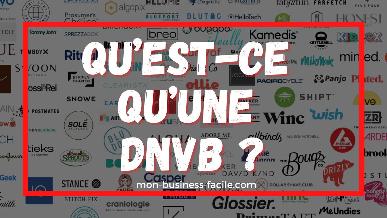 Qu'est-ce qu'une DNVB ?