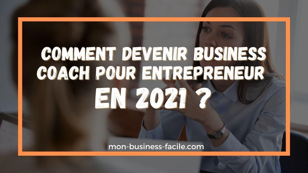 business coach pour entrepreneur